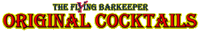 The Flying Barkeeper - Button - Original Cocktails - Angebote