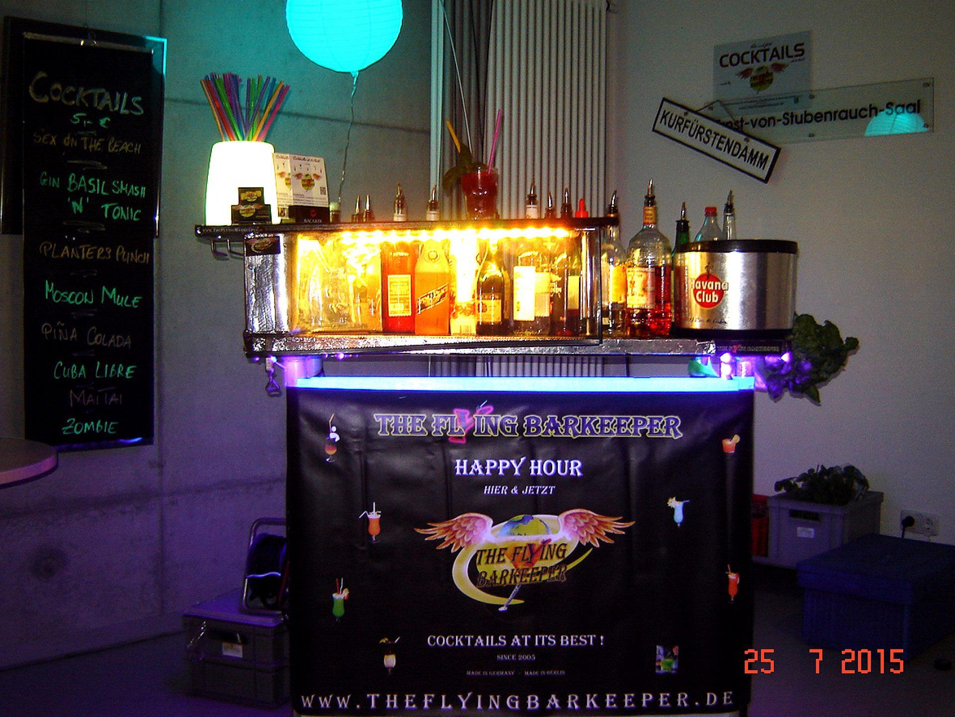 mobile Bar Happy Hour Bilder The Flying Barkeeper