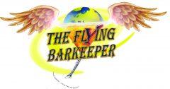 The Flying Barkeeper - kl. Logo - 1001 Cocktails aus aller Welt