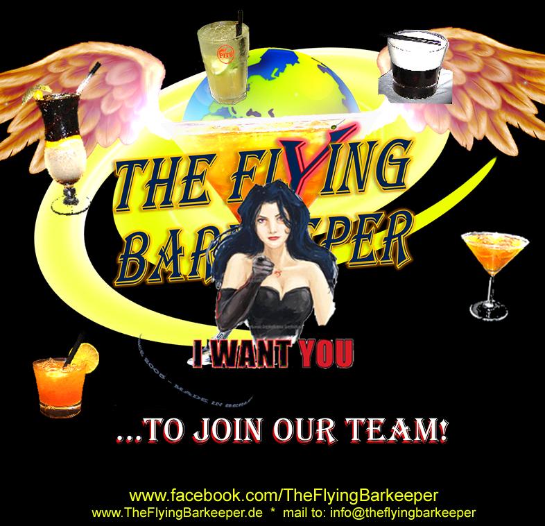 Mitarbeiter gesucht! Join The Flying Barkeeper teaser Kontakt