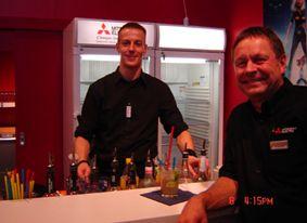 The Flying Barkeeper @ IFA Messeauftritt Angebote für Geschäftskunden